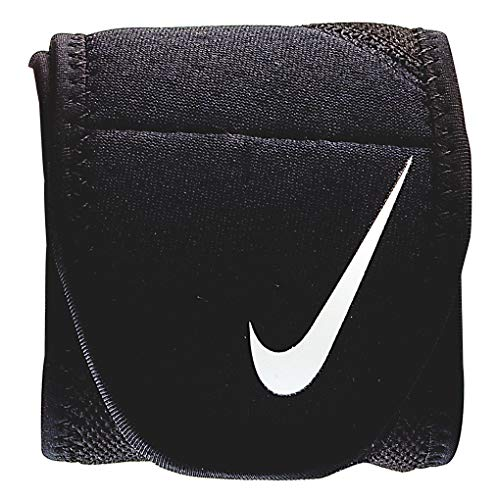 Nike Pro Combat Wrist Wrap 2.0 (One Size Fits Most, Black/White) ()