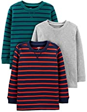 Simple Joys by Carter's Baby-Boys 3-Pack Thermal Long Sleeve Shirts