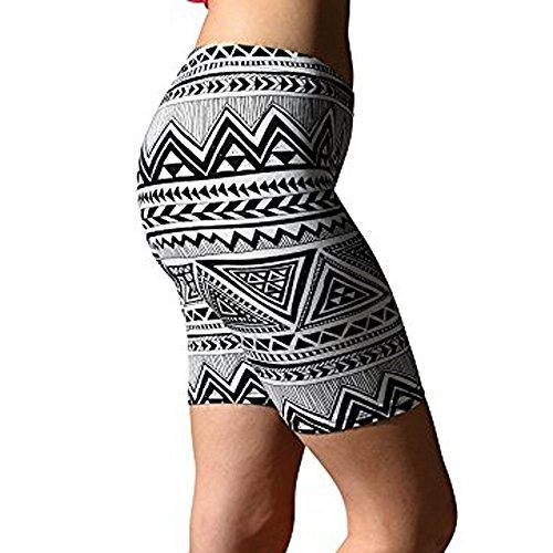 (iZHH Womens Yoga Pants Sport Pants Soft Brushed Active Stretch Yoga Bike Short Pants Gray)