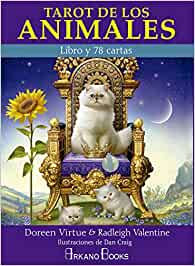 Tarot de los animales. Libro y 78 cartas: Amazon.es: Doreen ...