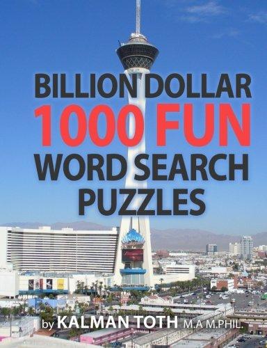 Billion Dollar 1000 Fun Word Search Puzzles (COGNITIVE BOOTCAMP) (Volume -
