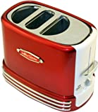 Nostalgia Electrics RHDT-700RETRO Retro Series Pop-Up Hot Dog Toaster