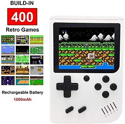Retro de mano consola de juego FC con 400 juegos clásicos de NES ...