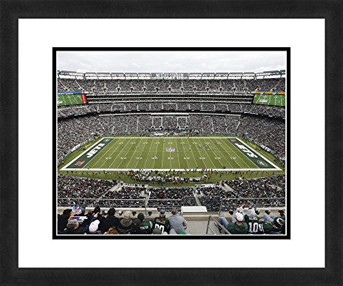 """NFL New York Jets MetLife Stadium, Beautifully Framed and Double Matted, 18"""" x 22"""" Sports Photograph"""