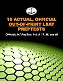 10 Actual, Official Out-of-Print LSAT PrepTests: Official LSAT PrepTests 1-6, 8, 17, 39, and 40 (Cambridge LSAT) by Tatro Morley (2010-11-19) Paperback