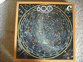 Map Of The Universe Southern Hemisphere F X Schmid Puzzle By