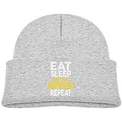 Eat Sleep Battle Royale Repeat Baby Boys Skull Cap Knit Hat
