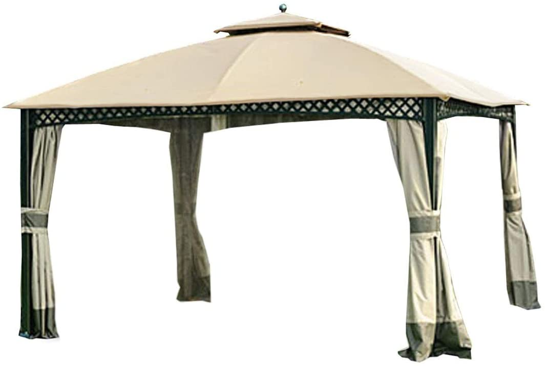 Garden Winds Replacement Canopy for The Windsor Gazebo - Standard 350 - Beige