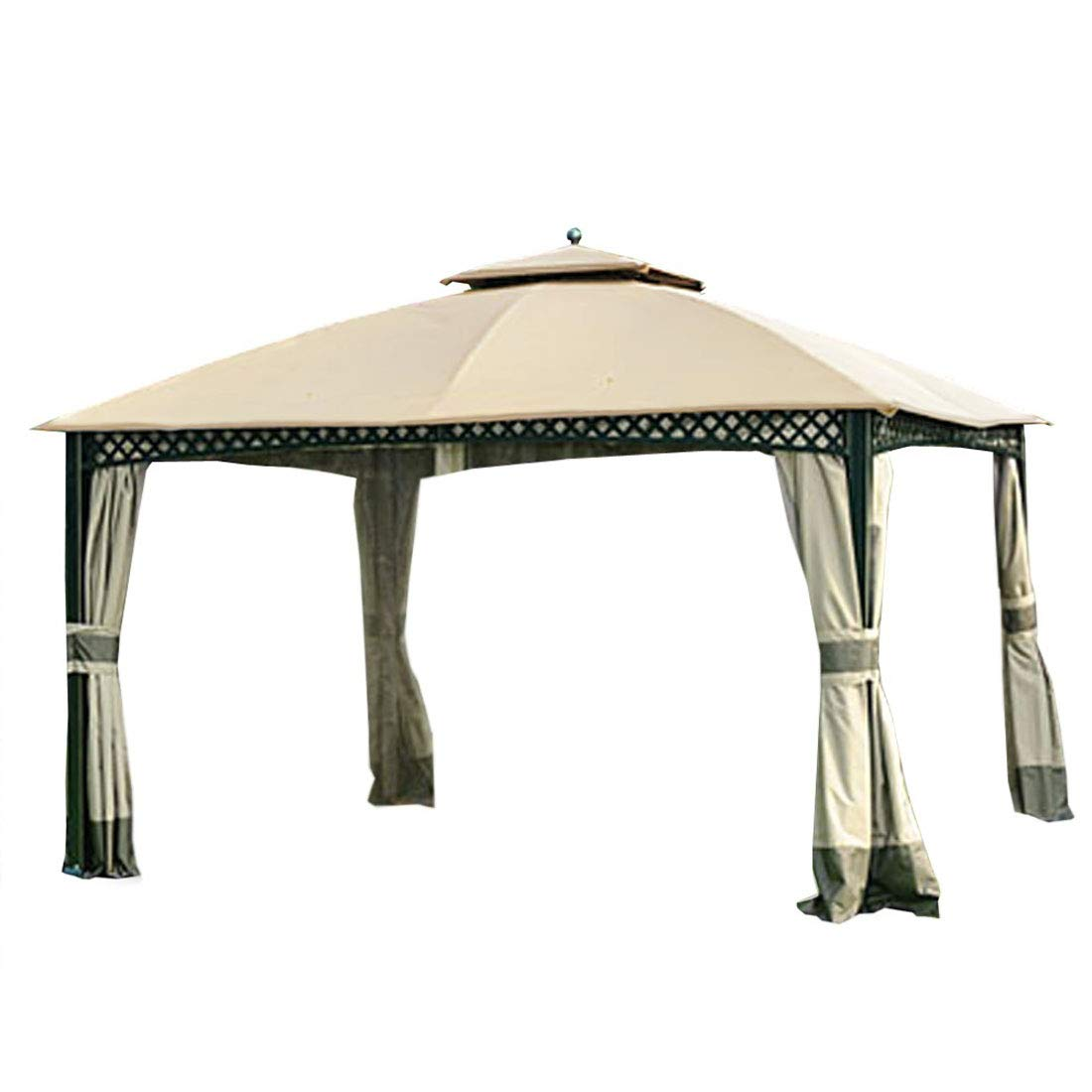Garden Winds LCM1202B Windsor Dome Gazebo Replacement Canopy, Beige by Garden Winds