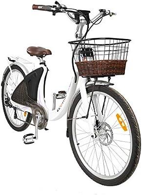 ECOTRIC Potente Bicicleta eléctrica de 26 Pulgadas, Bicicleta de ...