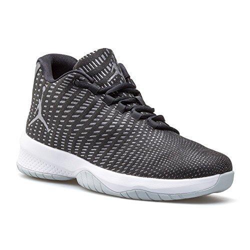the best attitude 2247f 01111 NIKE Mens Jordan B. Fly, Black White-Dark Grey-Pure Platinum, 10.5