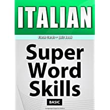 ITALIAN - Flash Cards + Quiz Book/SUPER WORD SKILLS/Basic/A powerful method to learn the vocabulary you need.