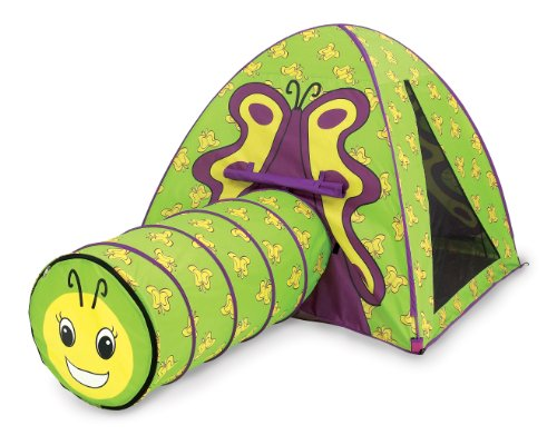 Pacific Play Tents Butterfly Tent & Tunnel Com.