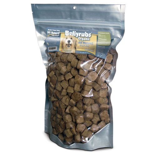 Bellyrubs Organic All Natural Freeze-Dried Dog Treats
