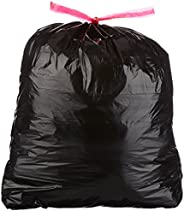 Amazon Basics 30 Gallon Large Trash Bag with Draw Strings, 1.2 mil, 120-Count