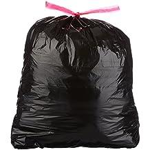 AmazonBasics 30 Gallon Large Trash Bag with Draw Strings, 1.2 mil, 120-Count