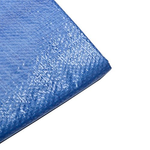 25X50 BLUE TARP All Purpose Water Weather Proof Boat Car ATV by Voyager Tools