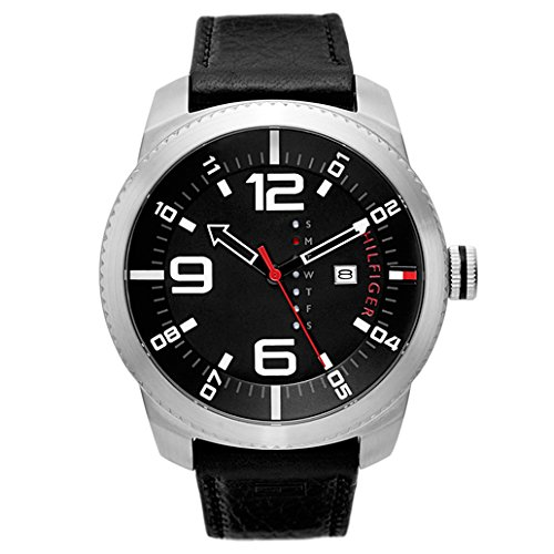 Tommy Hilfiger Men's 1791014 Analog Display Quartz Black Watch