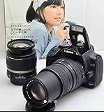 CANON(キヤノン) Canon(キヤノン) EOS Kiss DIGITAL X Wズームキット ブラック