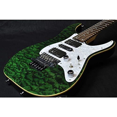 SCHECTER/SD-2-24-BW/R See Thru GREEN シェクター エレキギター   B07MG3PSSY