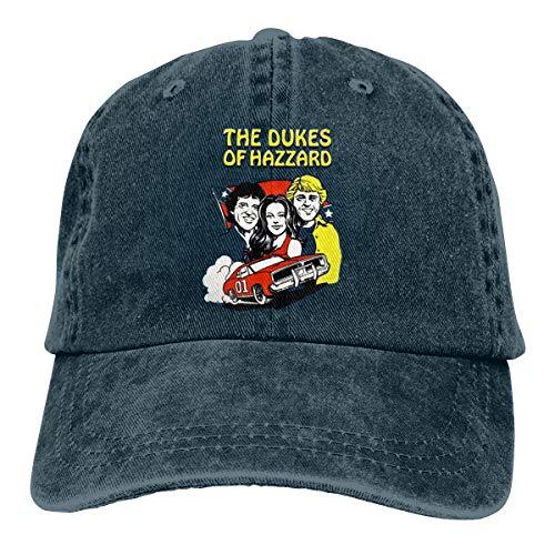 Mei73youguan Mens Womens Unisex Cool Dukes of Hazzard 80s TV Show Adult Cowboy Hat Navy ()