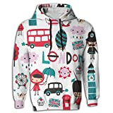 Ballet Tie Dye Oversized Long Sleeve Men Hoodie Pocket Hooded For Hipster Gymnast