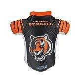 Littlearth NFL Cincinnati Bengals Premium Pet Jersey, Xtra Small