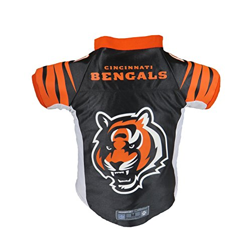 - Littlearth NFL Cincinnati Bengals Premium Pet Jersey, Medium