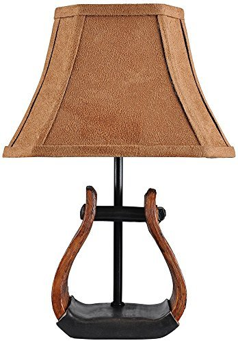 A Homestead Shoppe Stirrup Accent Table Lamp by A Homestead - Table Shoppe