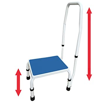 AdjustaStep(tm) Deluxe Step Stool/Footstool with Handle/Handrail Height Adjustable  sc 1 st  Amazon.com & Amazon.com: AdjustaStep(tm) Deluxe Step Stool/Footstool with ... islam-shia.org