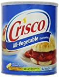 Crisco All Vegetable Shortening, 6 lb.