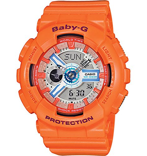 Casio Baby G Orange Quartz BA110SN 4A