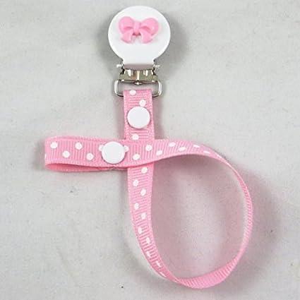Lovely Cute Baby Girl Chupete Chupete Chupete clip para bebé ...