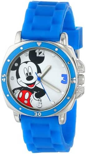 Disney Kids' MK1266 Watch with Blue Rubber Band