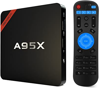 TV Box Android 5.1 A95X 4K HD WiFi 3D Amlogic S905 Quad Core 64 bit Cortex