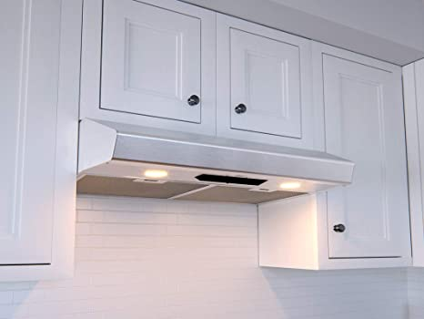 Amazon Com Zephyr Ak1100s 30 Essentials Breeze Series Under Cabinet Range Hood With 250 Cfm In Stainless Steel Appliances