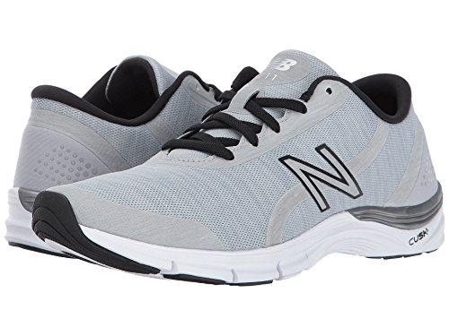 散文信者ぶら下がる(ニューバランス) New Balance レディーストレーニング?競技用シューズ?靴 WX711 Steel/Black 7 (24cm) D - Wide