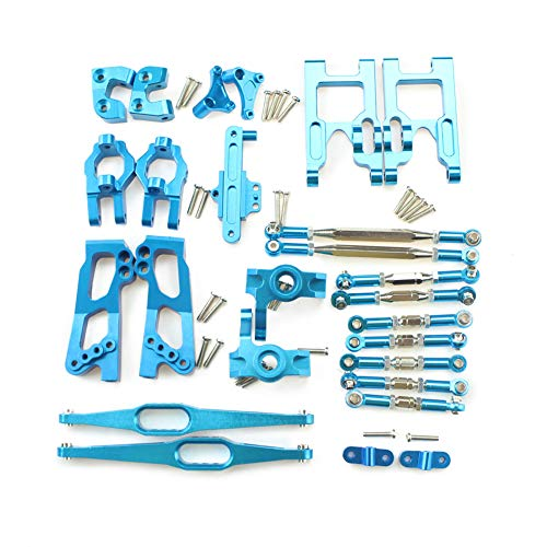 Alician Upgrade Metal Parts Kit for Feiyue FY03 WLtoys 12428 1/12 RC Buggy Car Parts