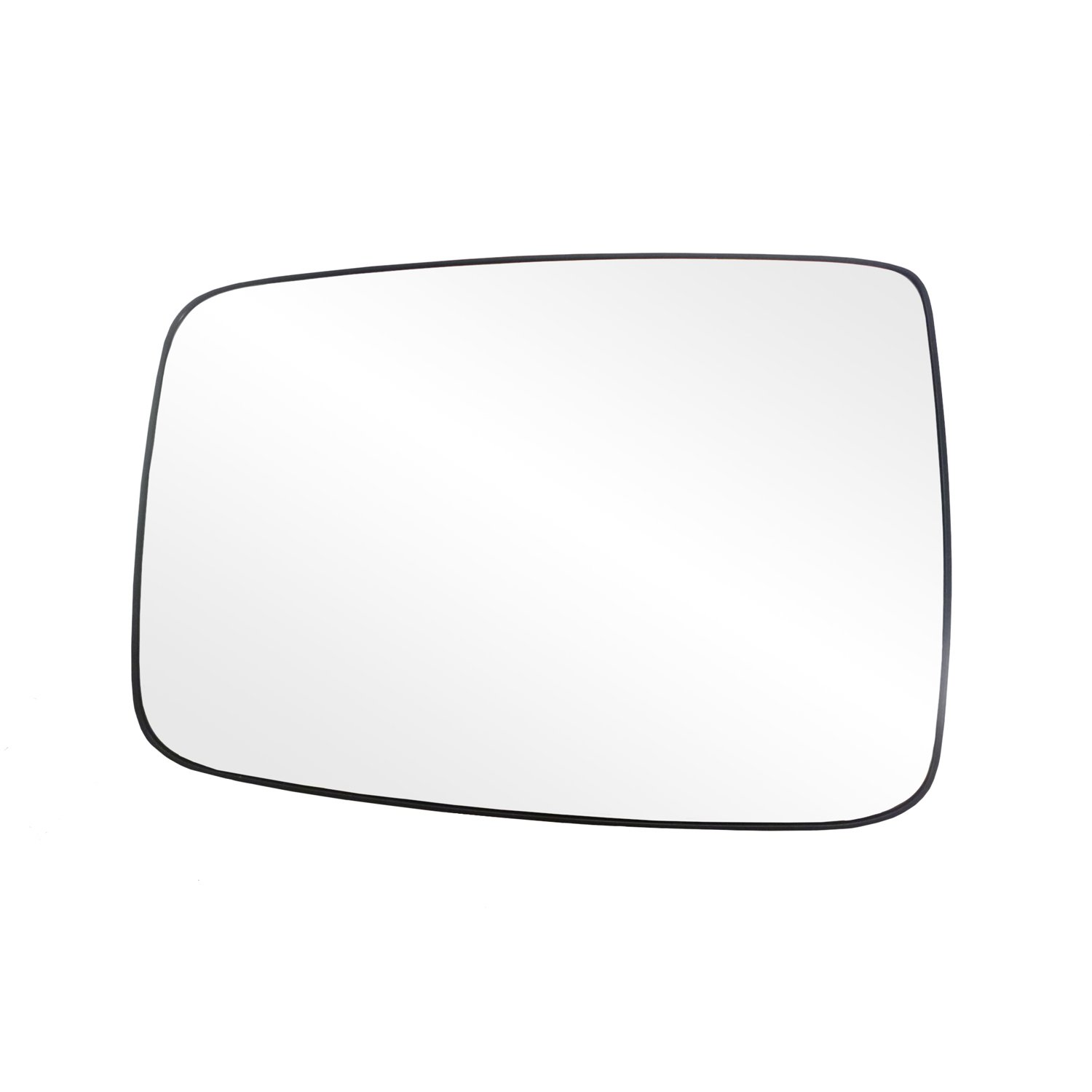 Fit System 88244 Dodge RAM 1500/2500/3500 Left Side Manual/Power Replacement Mirror Glass with Backing Plate