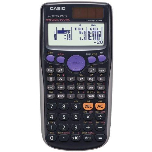 Casio fx-300ES PLUS Scientific Calculator, Black by Casio