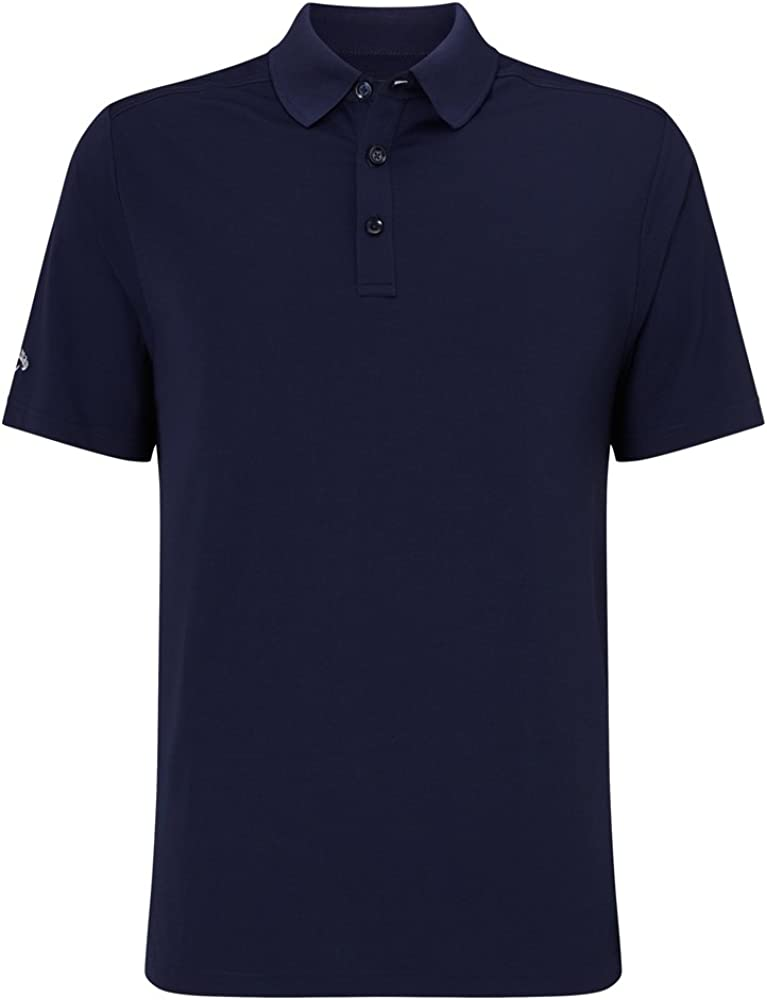 Callaway Hex OPTI Stretch Polo de Golf, Hombre, Azul (410), S ...