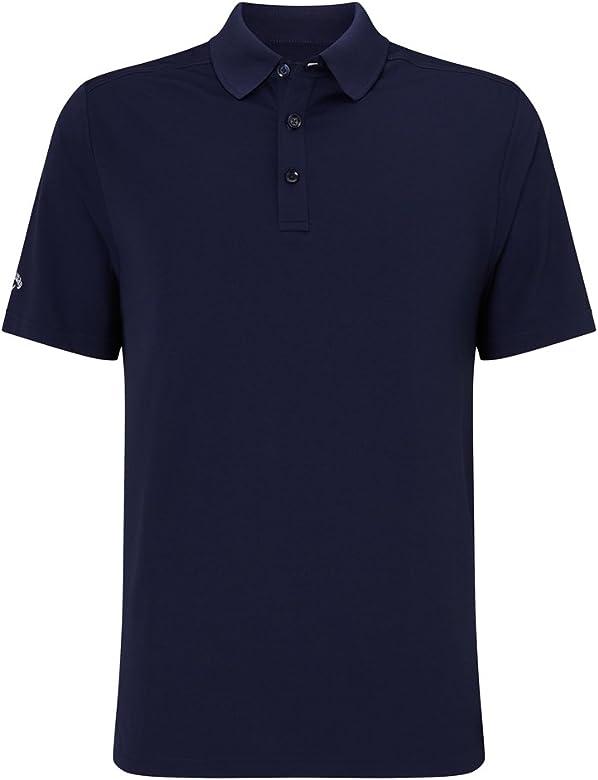 Callaway Hex OPTI Stretch Polo de Golf, Hombre, Azul (410), S ...