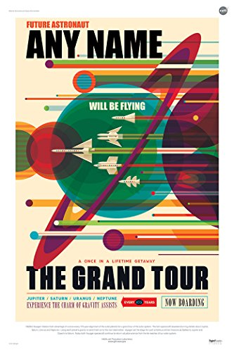 nasa space tourism posters