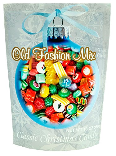 Primrose Old Fashion Mix Hard Candy - Classic Christmas Candy in 13 oz Holiday Retail Package - Ideal Gourmet Food Gift - Old Fashion - Candy Mix Christmas