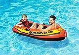Intex Explorer 200, 2-Person Inflatable Boat Set