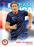Abby Wambach trading card (United States Olympic Team Women Soccer) 2016 Topps #40