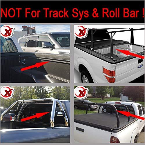 Soft Roll-Up Tonneau Cover Fit Ram 09-18 1500 10-18 2500//3500 6.5/' Fleetside Bed