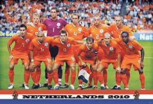 J-4089 Netherlands World Cup 2010 - Football , Soccer, Sport Collections,decorative Poster Print Vintage