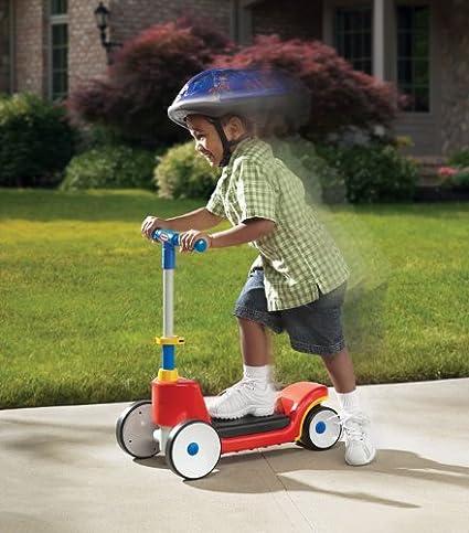 Amazon.com: Little Tikes – 2 en 1 Sit N Scoot: Toys & Games