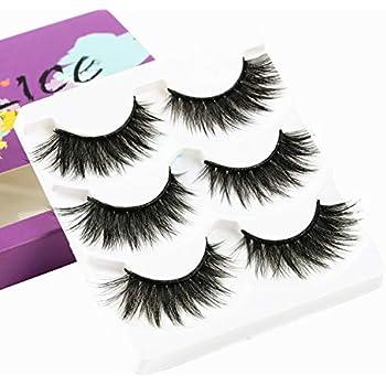 ba94e909ffe Amazon.com : 5pairs Variety Mink Lashes Strip - DAODER Dramatic ...